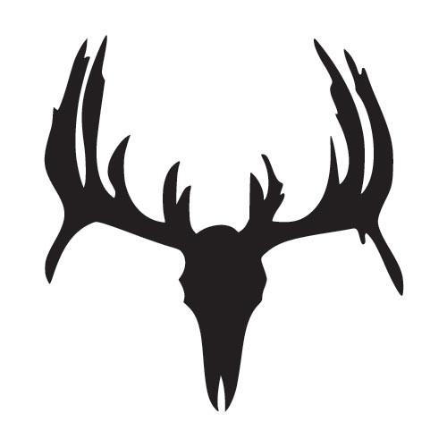 Deer skull clip art.