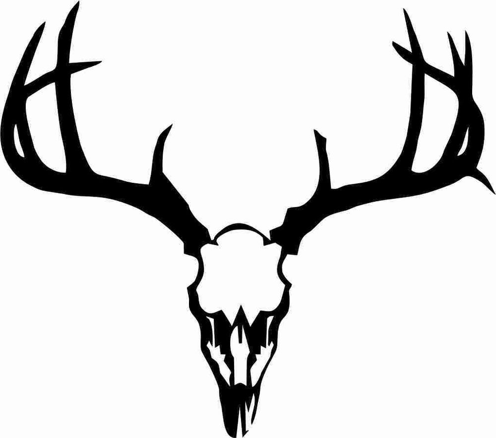 European deer mount clipart.