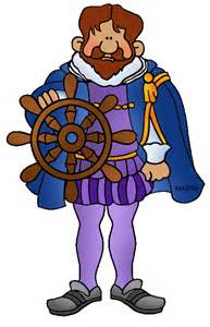 European Explorer Clipart.