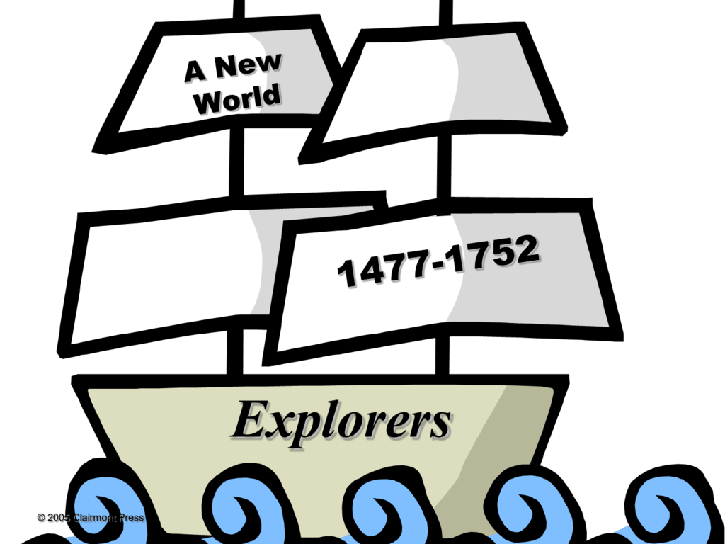 Three Countries explore the New World ppt.
