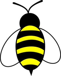 Buzzing bee clipart free clipart images.