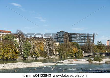 Stock Photo of European Patent Office, Munich, Upper Bavaria.