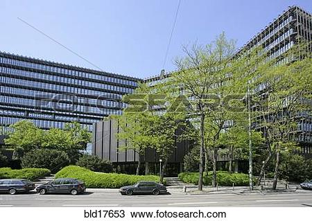 Stock Photo of Germany Bavaria Munich buildings European Patent.