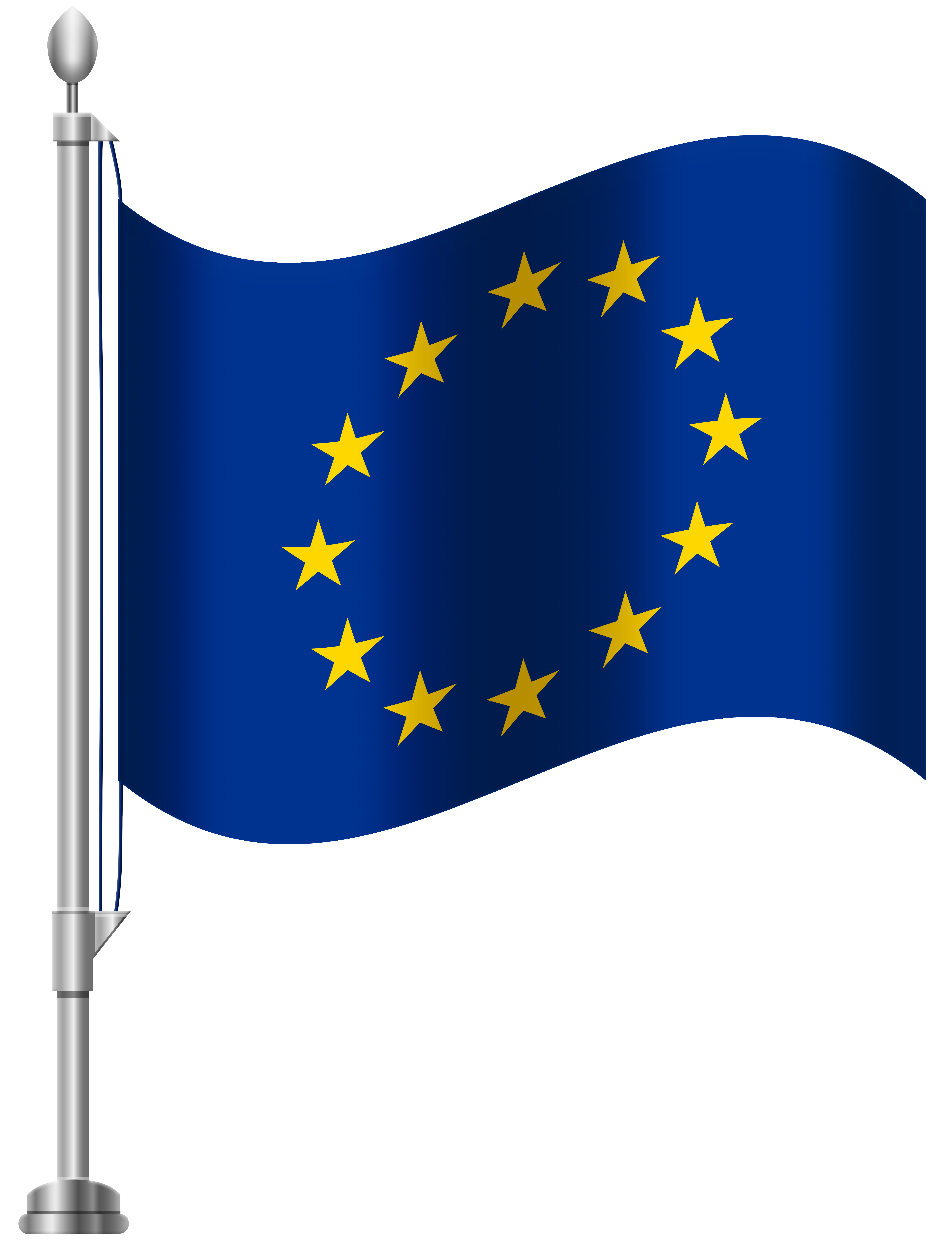 European Union Flag PNG Clip Art.