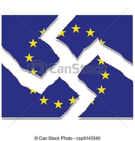Vector Clipart of European Union.