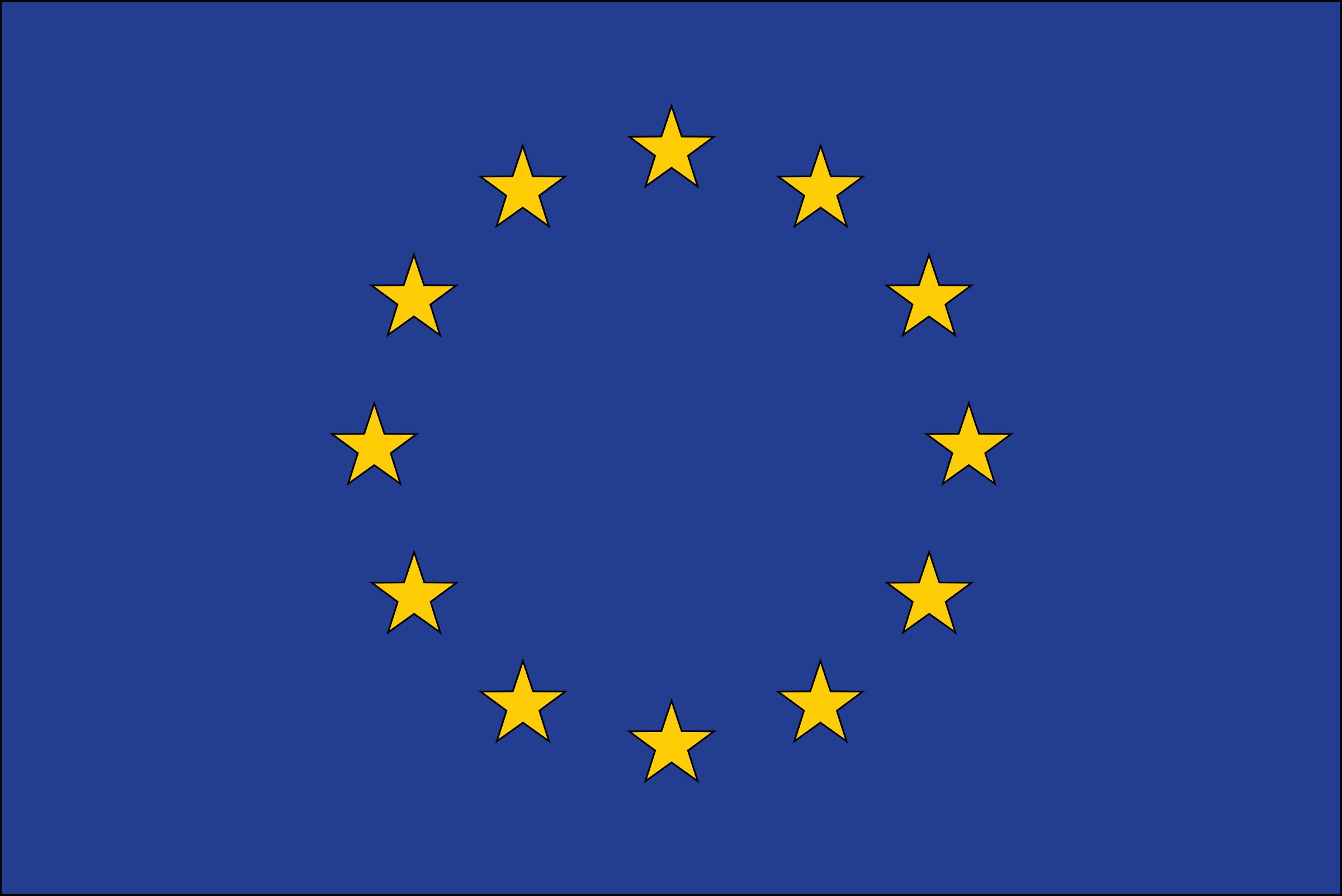 European Flag Clipart.
