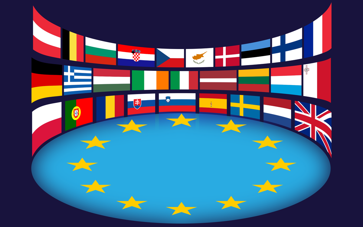 Flag,European Union,Flag Of Europe PNG Clipart.