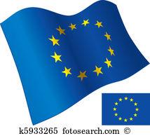 European union flags clipart #16