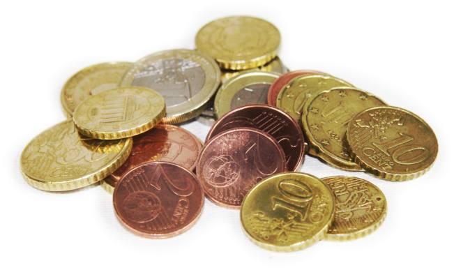Münzen euro clipart.