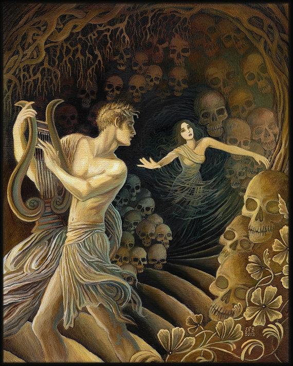 Orpheus and eurydice.
