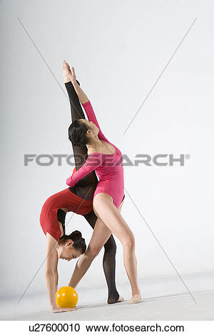 Stock Photography of eurythmics,ball exercise u27600010.
