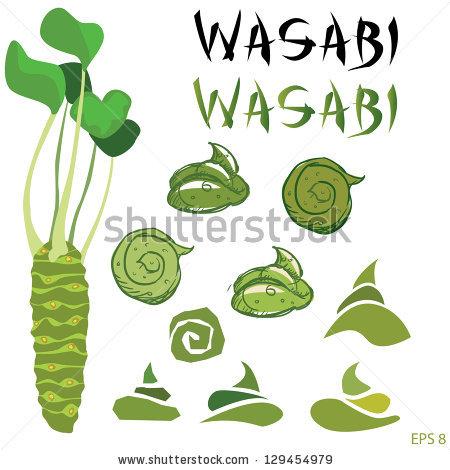 Wasabi Plant Stock Photos, Royalty.