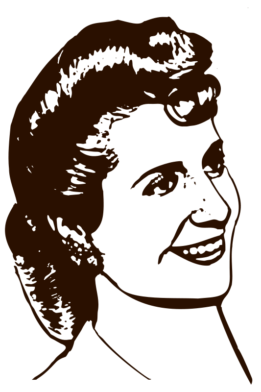 Free Clipart: Eva Perón.