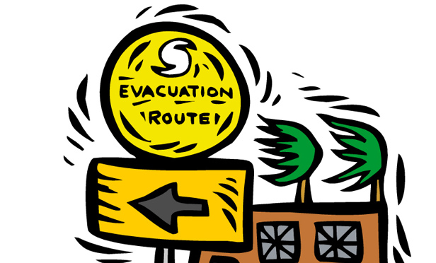 Evacuation clipart » Clipart Station.