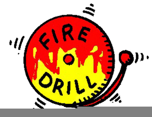 Free Fire Evacuation Clipart.
