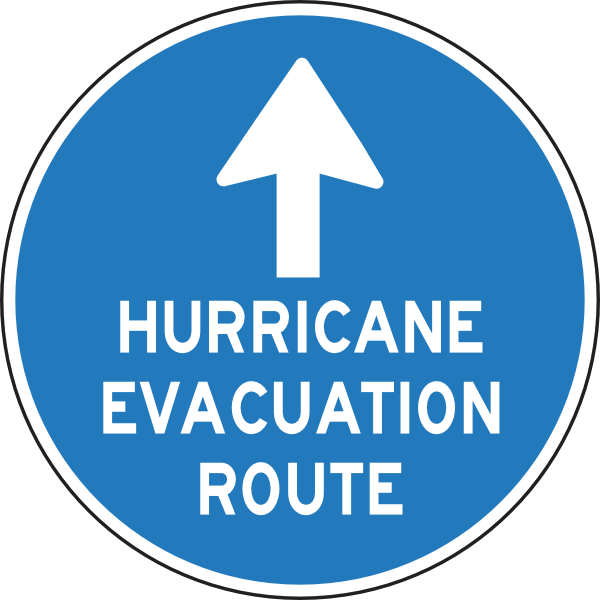 Evacuation Symbol Clipart.