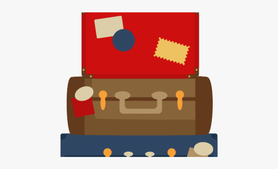 Cute Suitcase Clipart , Transparent Cartoon, Free Cliparts.