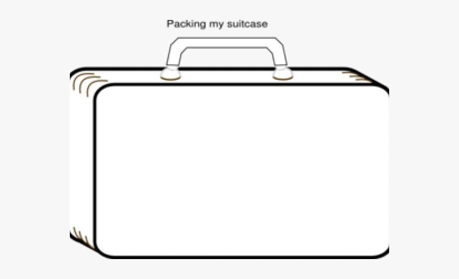 Suitcase Clipart Evacuee.