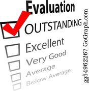 Evaluation Clip Art.