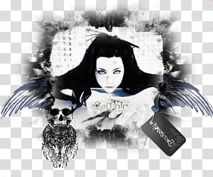 Evanescence transparent background PNG cliparts free.