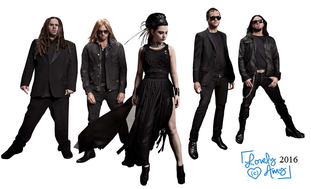 Evanescence PNG Photos.