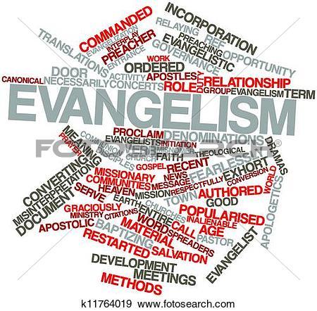 Stock Illustration of Evangelism k11764019.