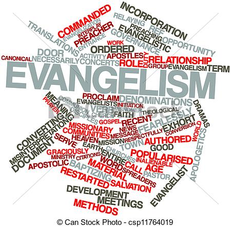 Clipart of Evangelism.