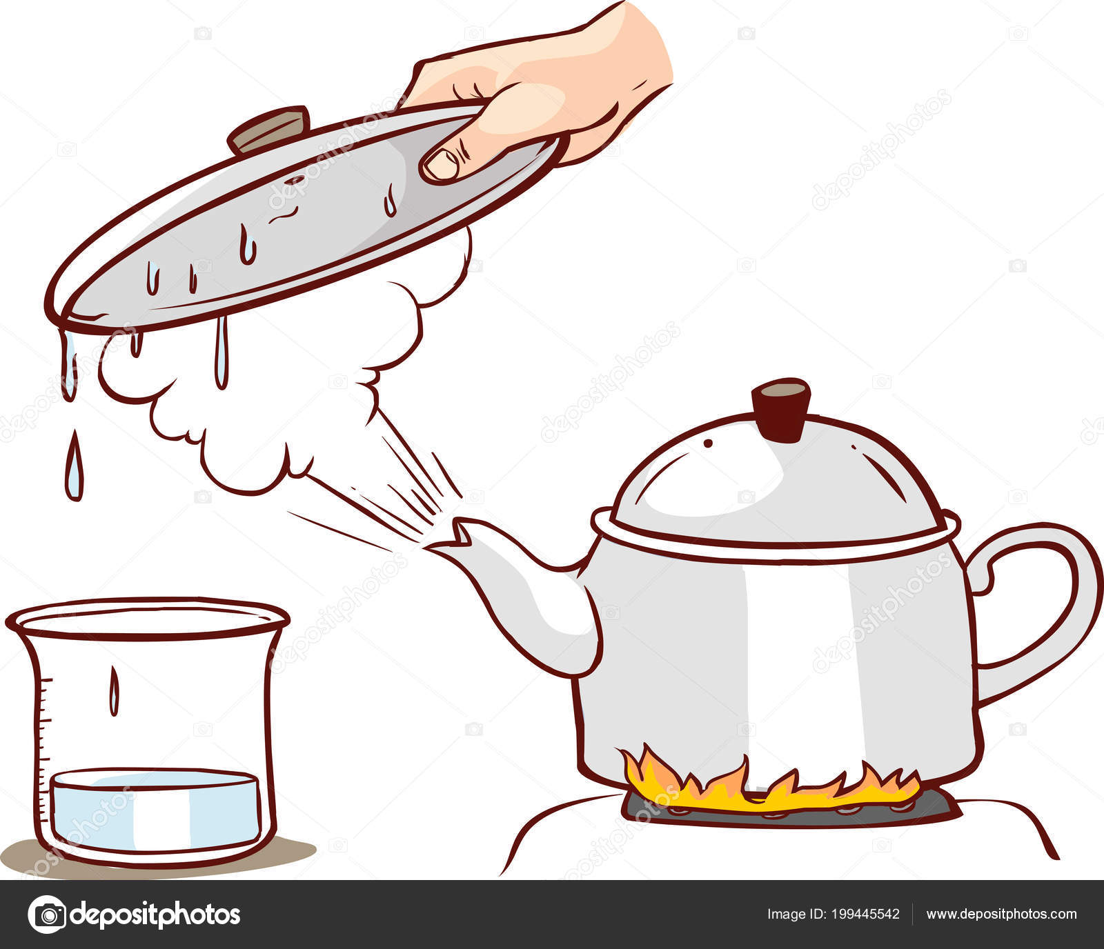 Pictures: boiling water clip art.