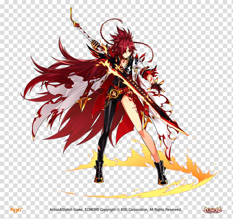 Elsword Closers Elesis Video game EVE Online, others.