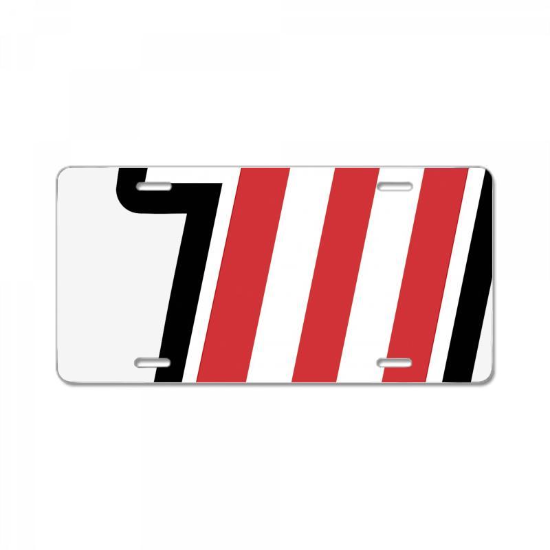 Evel Knievel Logo License Plate. By Artistshot.