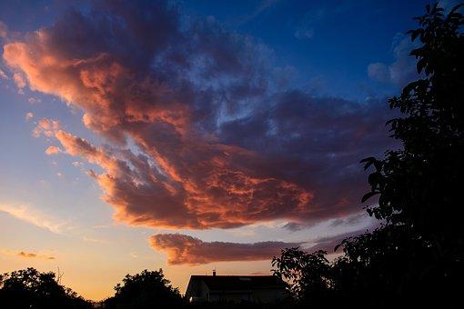 Storm, Clouds.