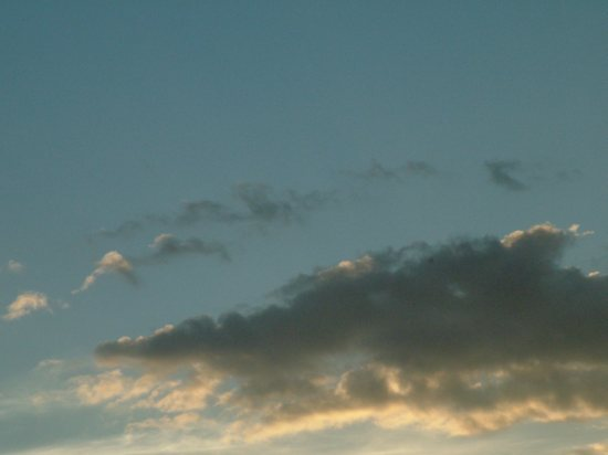 Evening Clouds Clip Art.