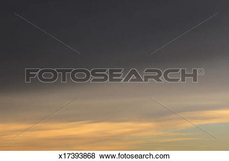 Pictures of Evening altostratus clouds x17393868.