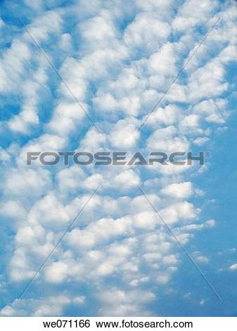 Stock Images of Sky and clouds in evening. Pune, Maharashtra.