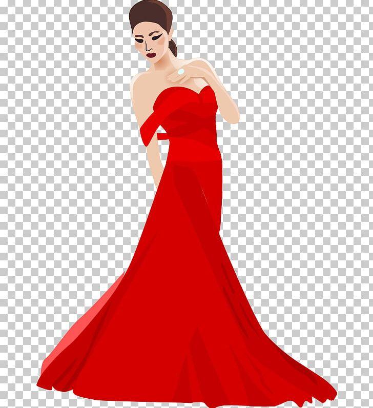 Dress Evening Gown PNG, Clipart, Ball Gown, Beauty, Clip Art.