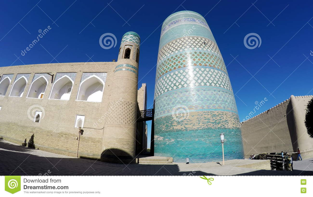 Unfinished Kalta Minor Minaret Minaret Muhammad Amin Khan Khiva.