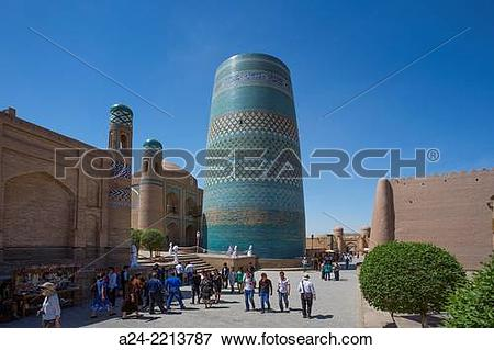 Picture of Uzbekistan , ,Khorezm Region,Khiva City,Itchan Kala.