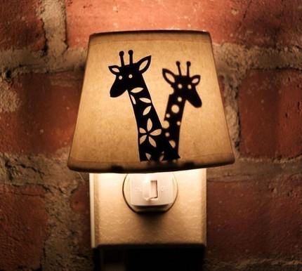 Evening Lights Clip Art.