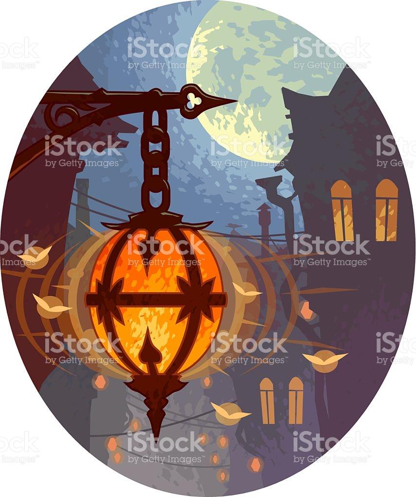 Evening Light stock vector art 535006047.