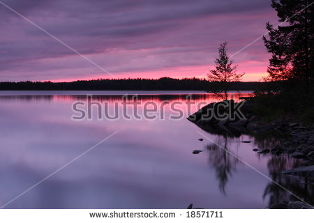 Finland Lake Stock Photos, Royalty.