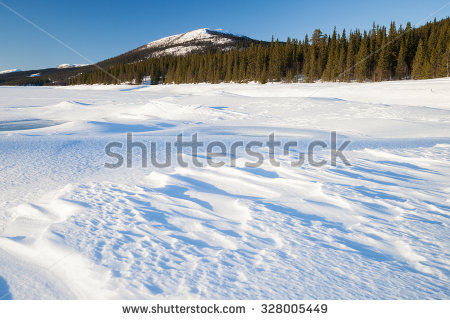 Snow Field Stock Photos, Royalty.