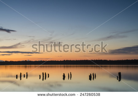 Calm Lake Stock Photos, Royalty.
