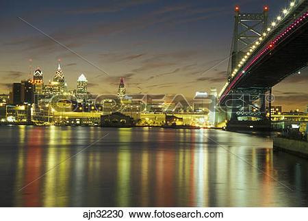 Stock Photography of Pennsylvania, PA, Philadelphia, Ben Franklin.