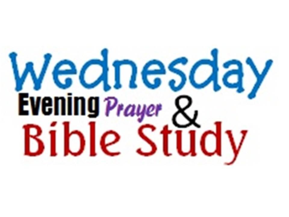 Wednesday Night Bible Study Clip Art.