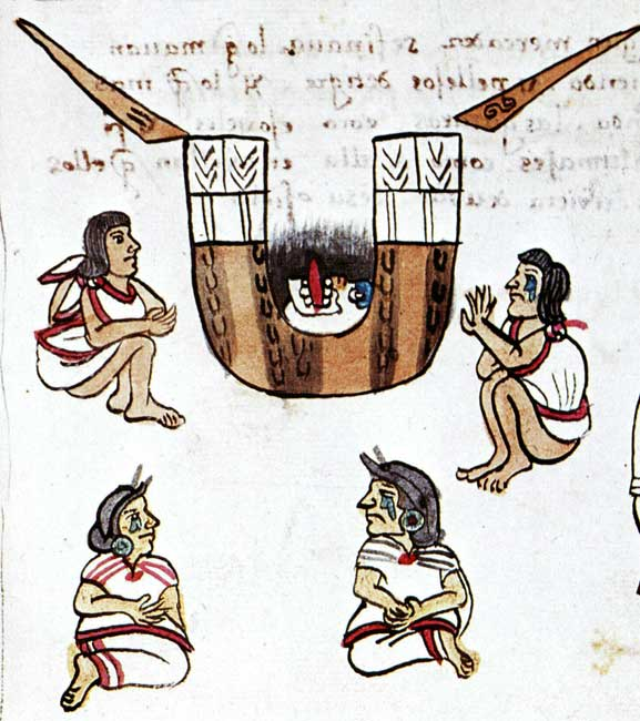 The Aztec art of mourning.