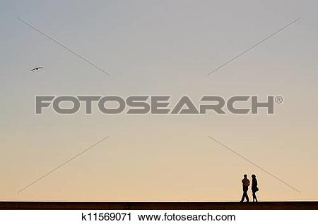 Stock Photography of Evening stroll k11569071.