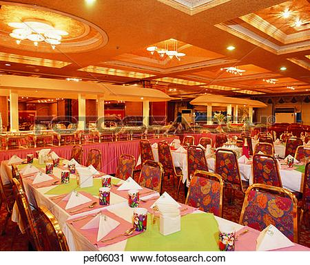 Stock Photography of banquet hall, feast, table setting, chair.