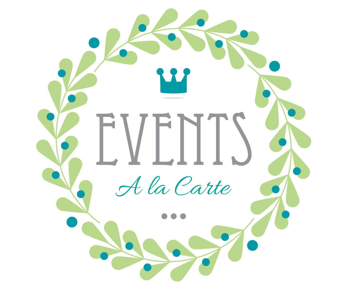 Event Planning Logo Design for Events A la Carte by.