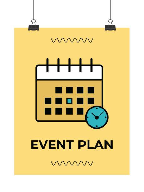 Best Event Planning Illustrations, Royalty.