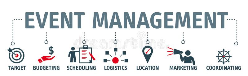 Event Management Stock Illustrations.